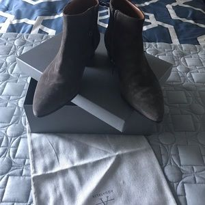 Aquatalia ankle boots  - Anthracite
